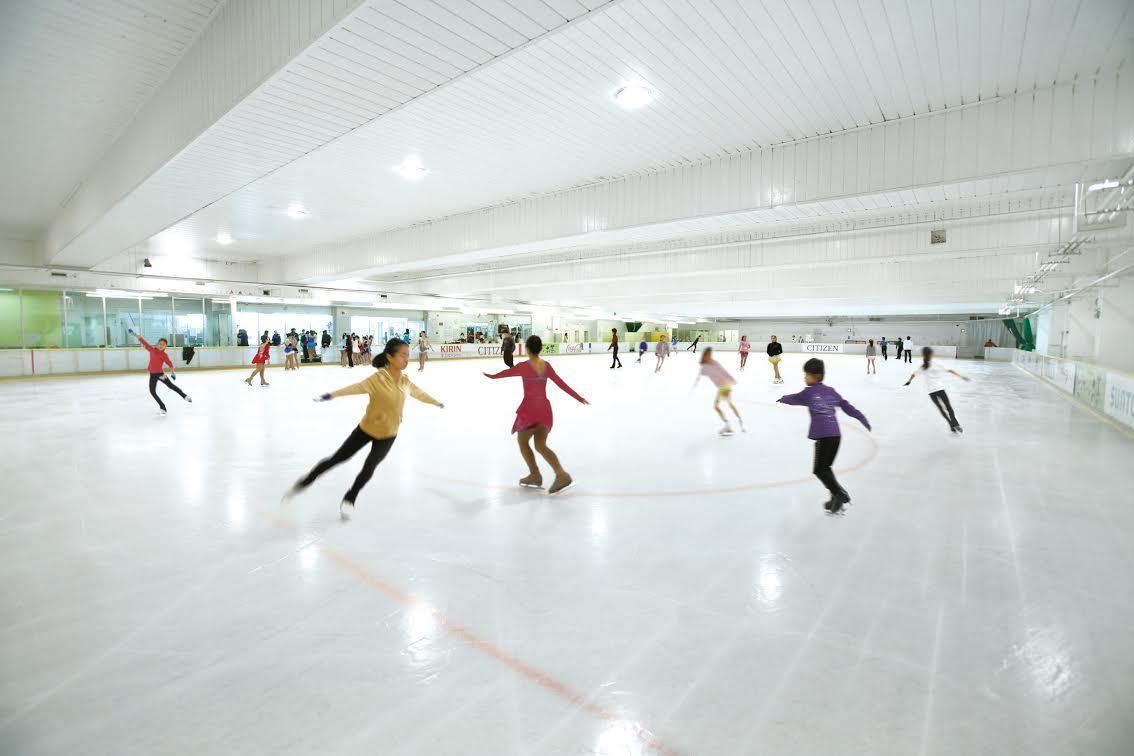 東京、アイススケートリンク2017