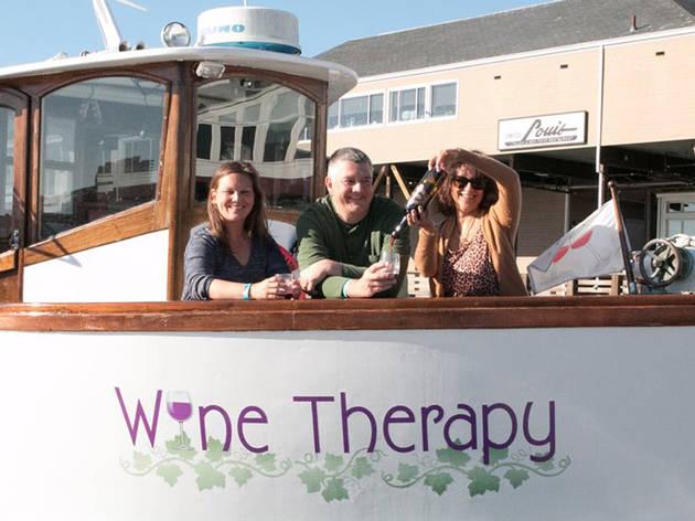Pier 39 Winter Wine Walk