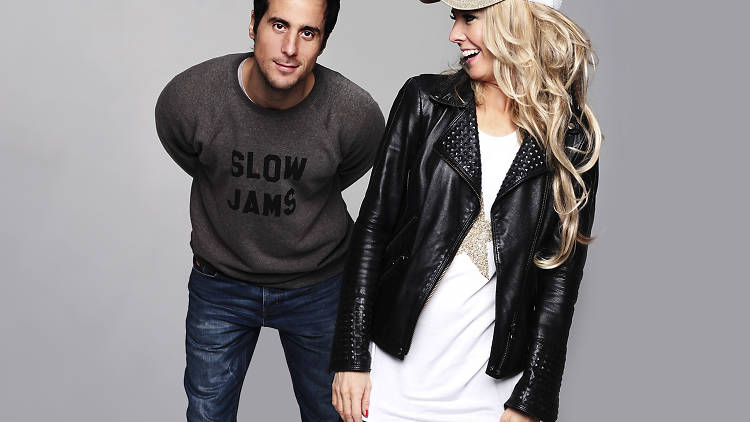 Ben Santiago and Lovely Laura