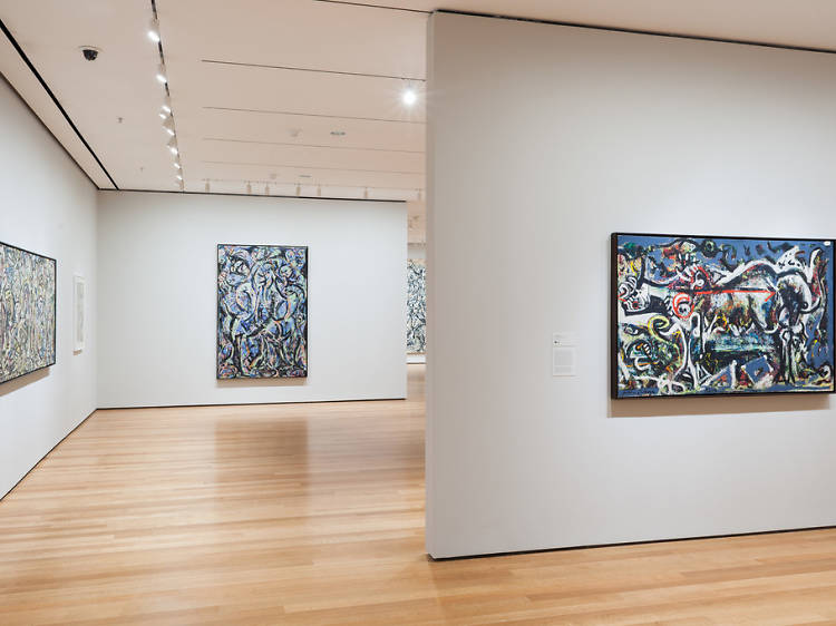 See world-class works at the Museum of Modern Art