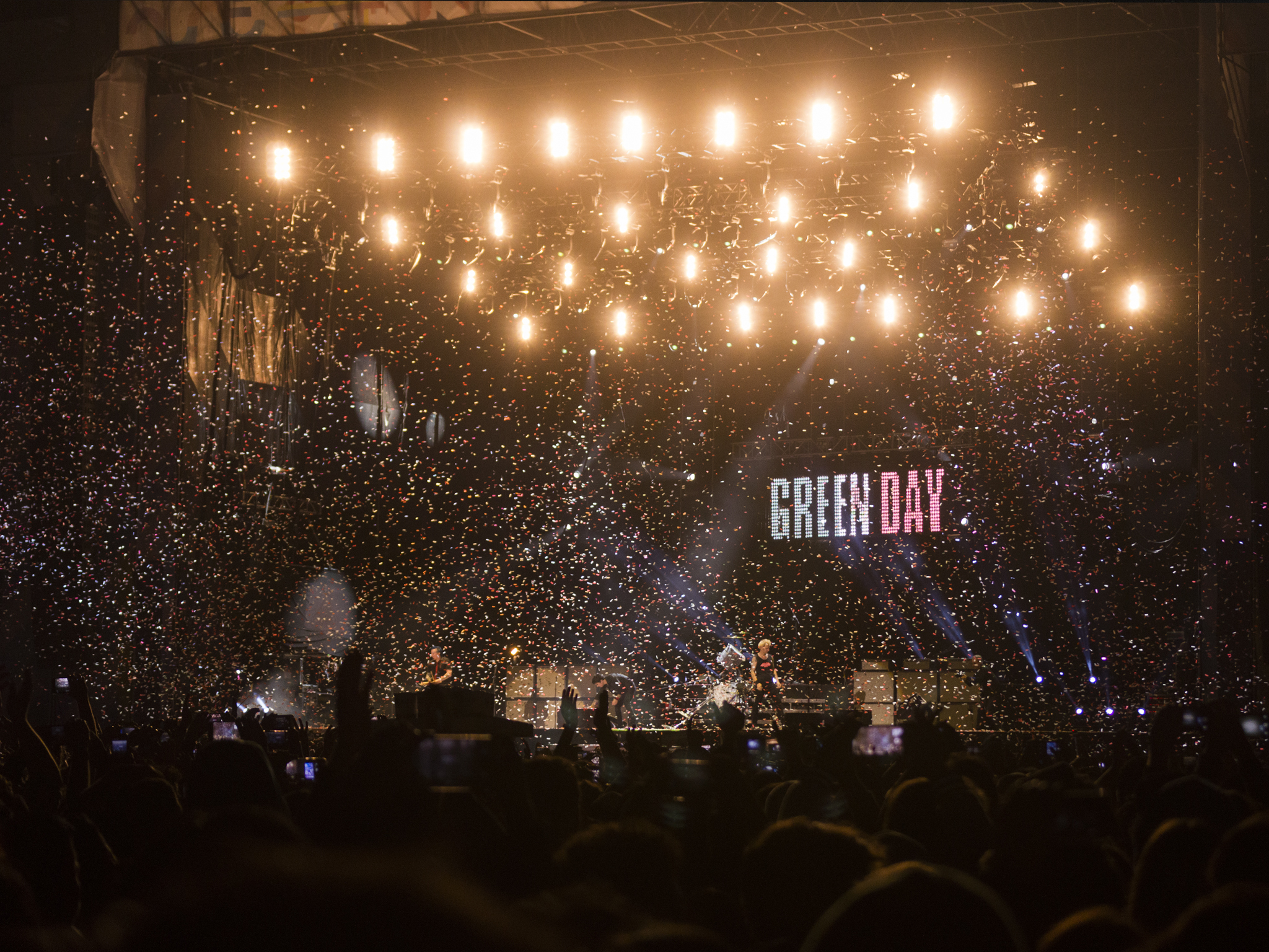 Green Day en el CC17