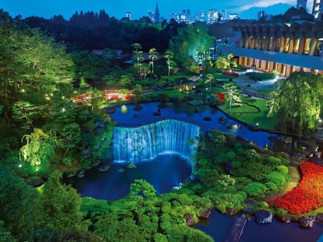 Hotel New Otani Japanese Garden Illumination