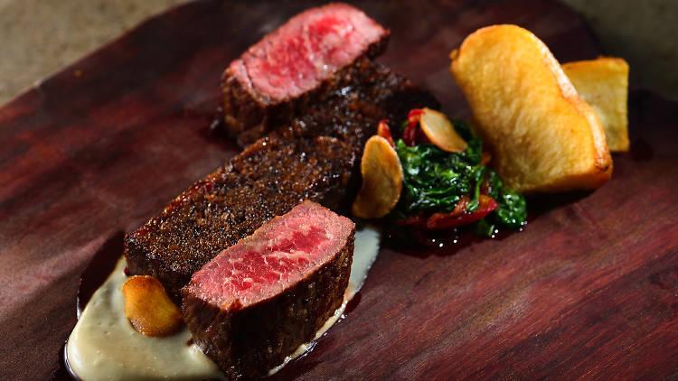 steak and chips alibi