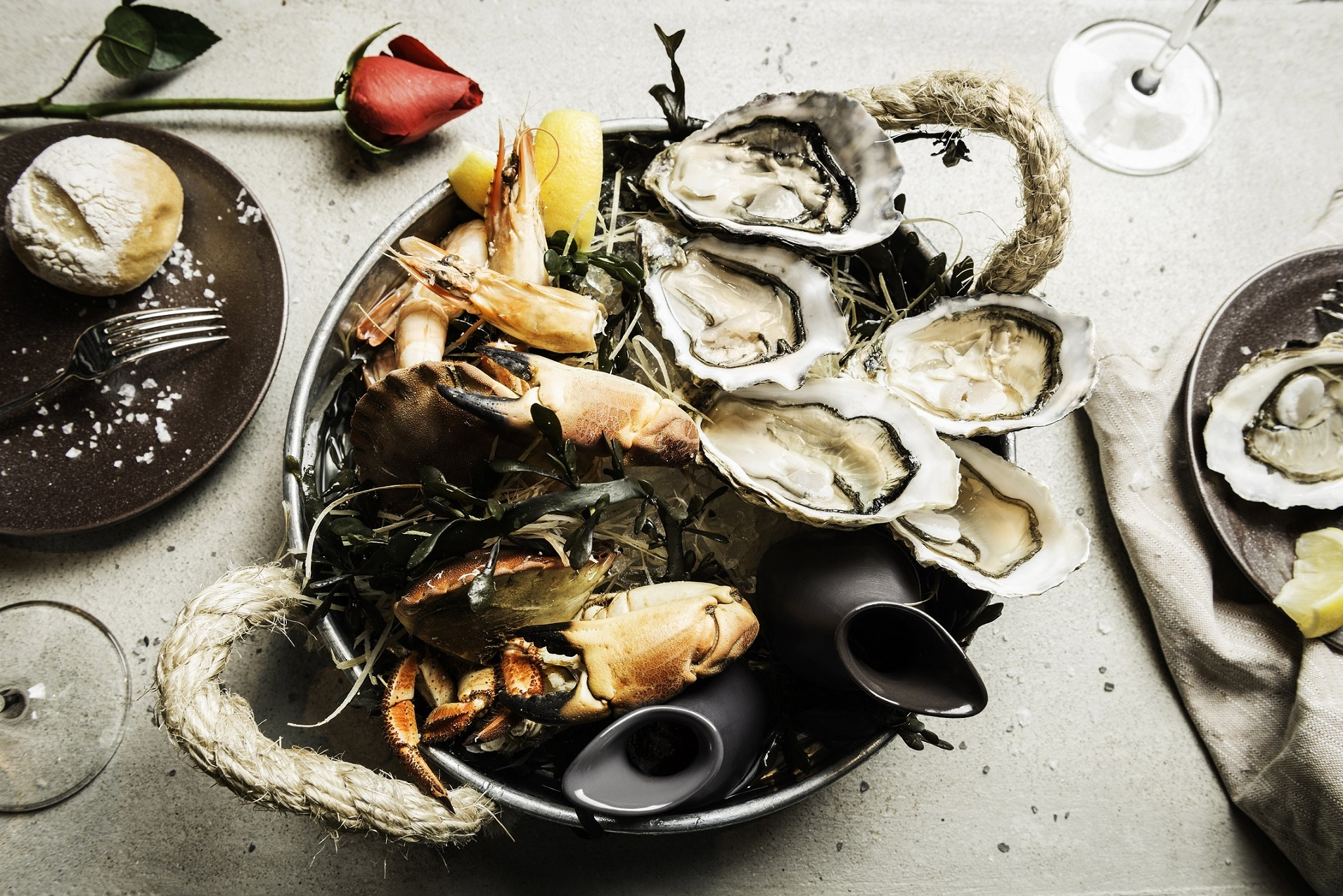 seafood platter alibi cordis hotel
