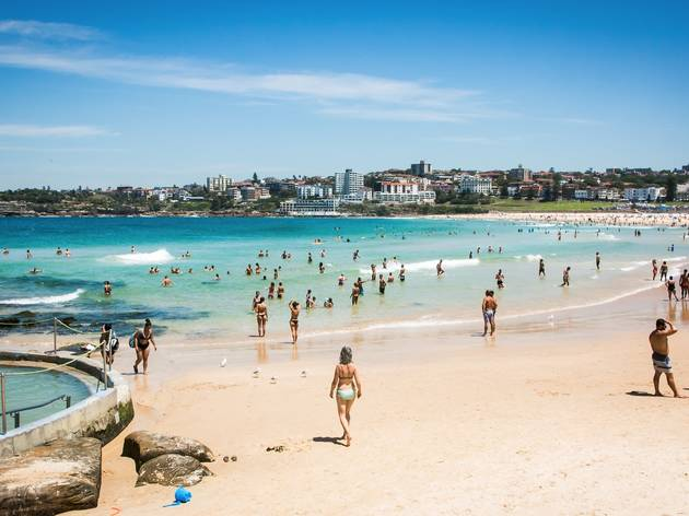 Ocean at Bondi Beach