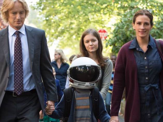Wonder, Owen Wilson, Jacob Tremblay and Julia Roberts