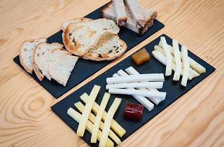 Trio de queijos da Manteigaria Silva