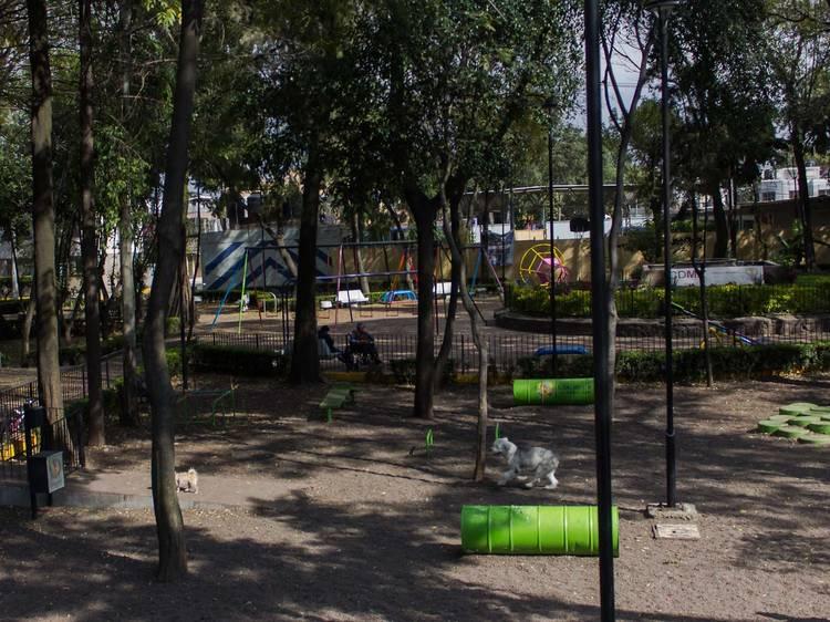 Zona canina del Parque Banjidal