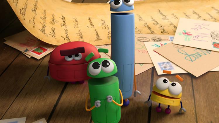 Navidad con los Storybots