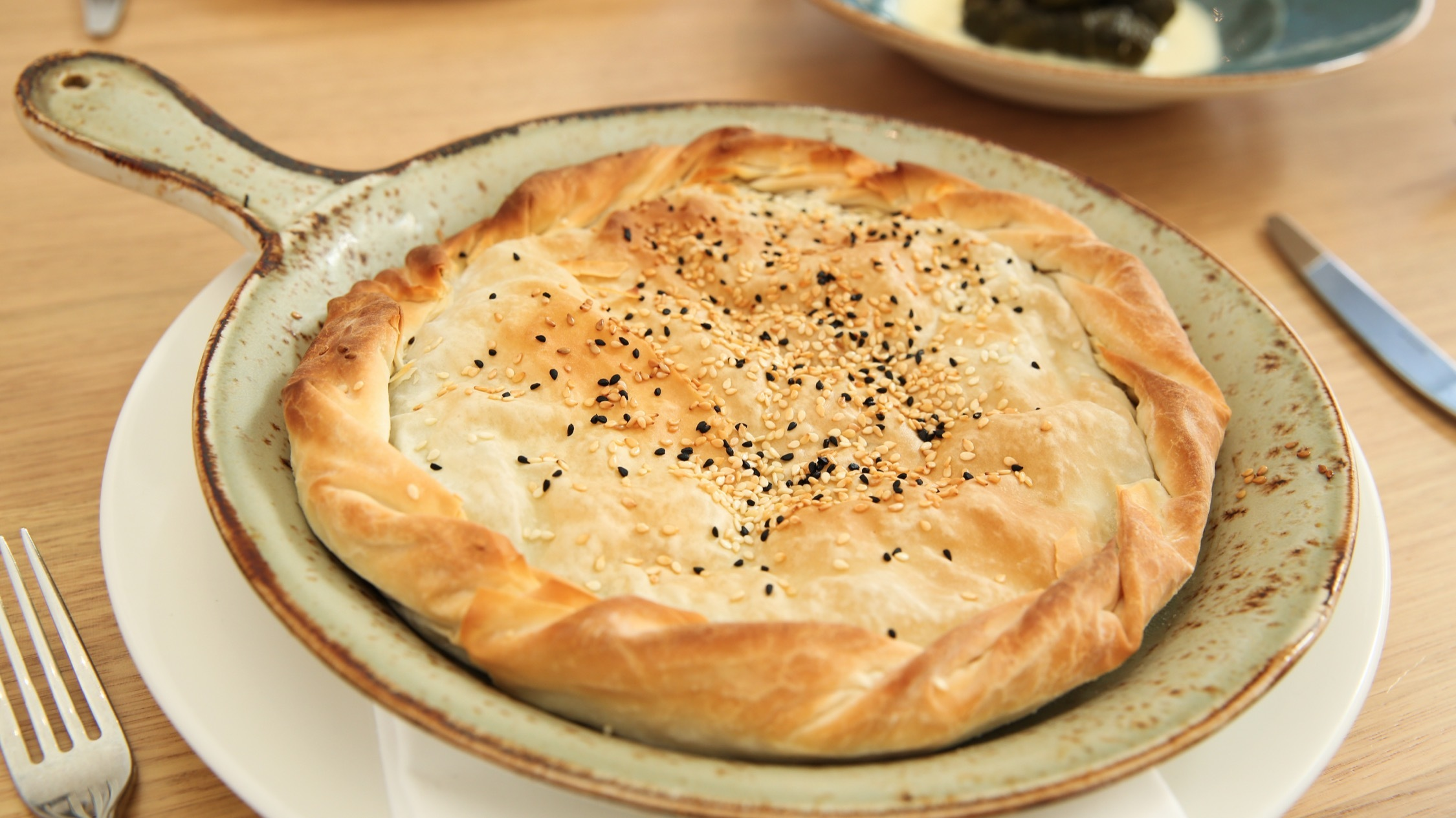 Greek Pastry at Alpha