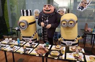 The Minions pop-up cafe