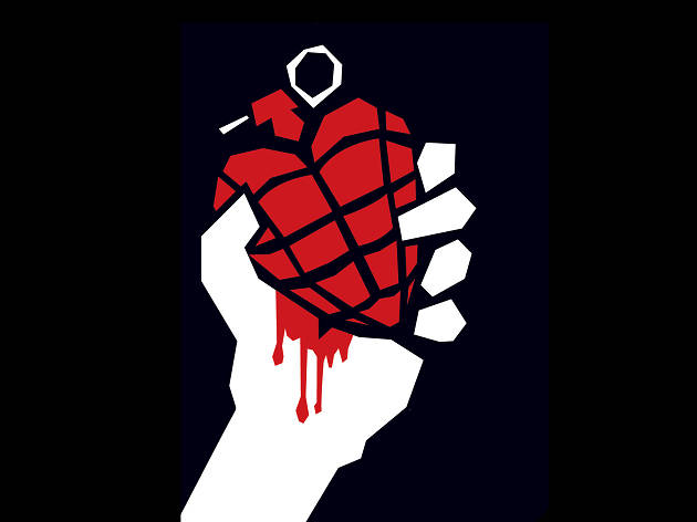 Green Day American Idiot logo