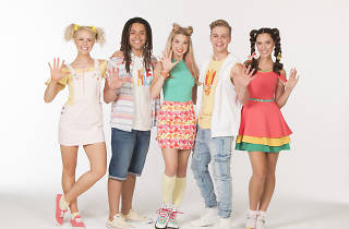 The members of children's group Hi-5