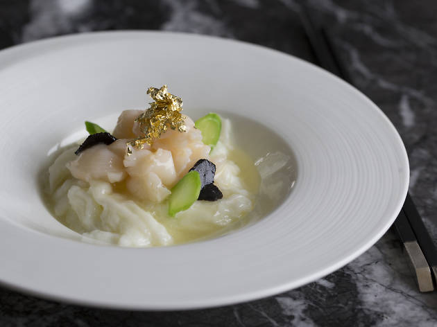 Above & Beyond fish dish