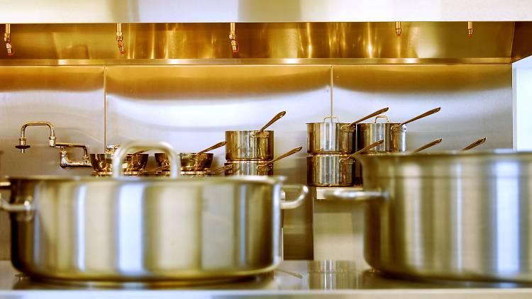 panelas e cozinha