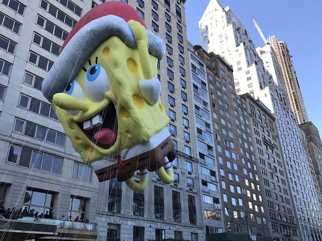 See festive photos of the Macy's Thanksgiving Day Parade 2017