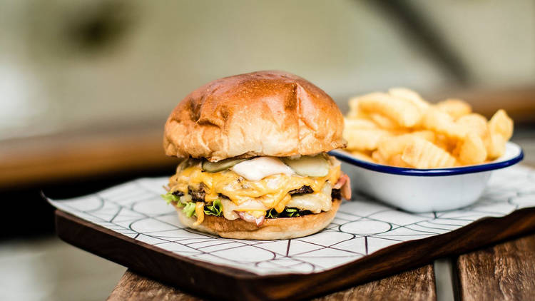 Arbory Burger at Arbory Bar and Eatery