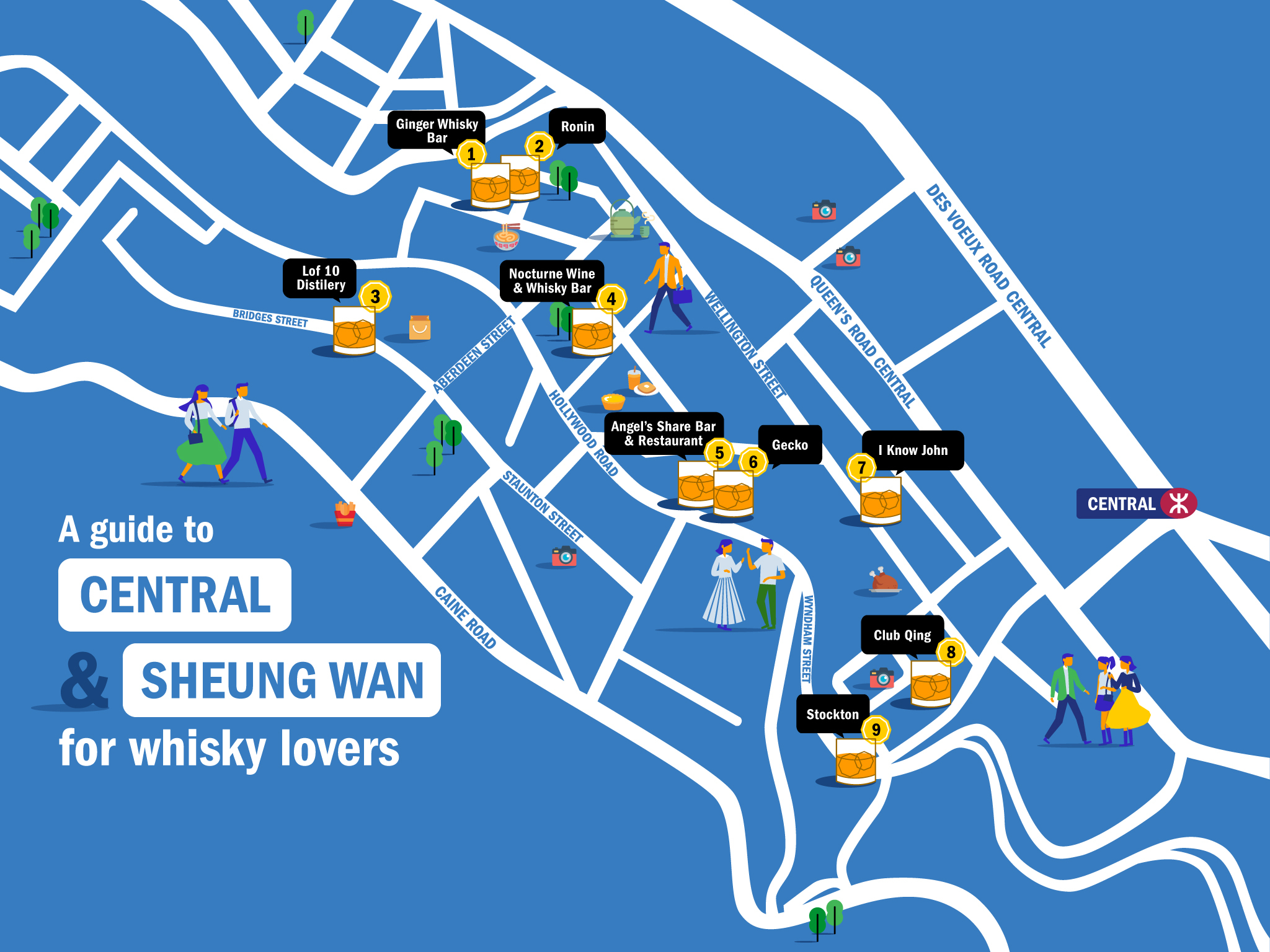 Whisky lover's guide to Central and Sheung Wan