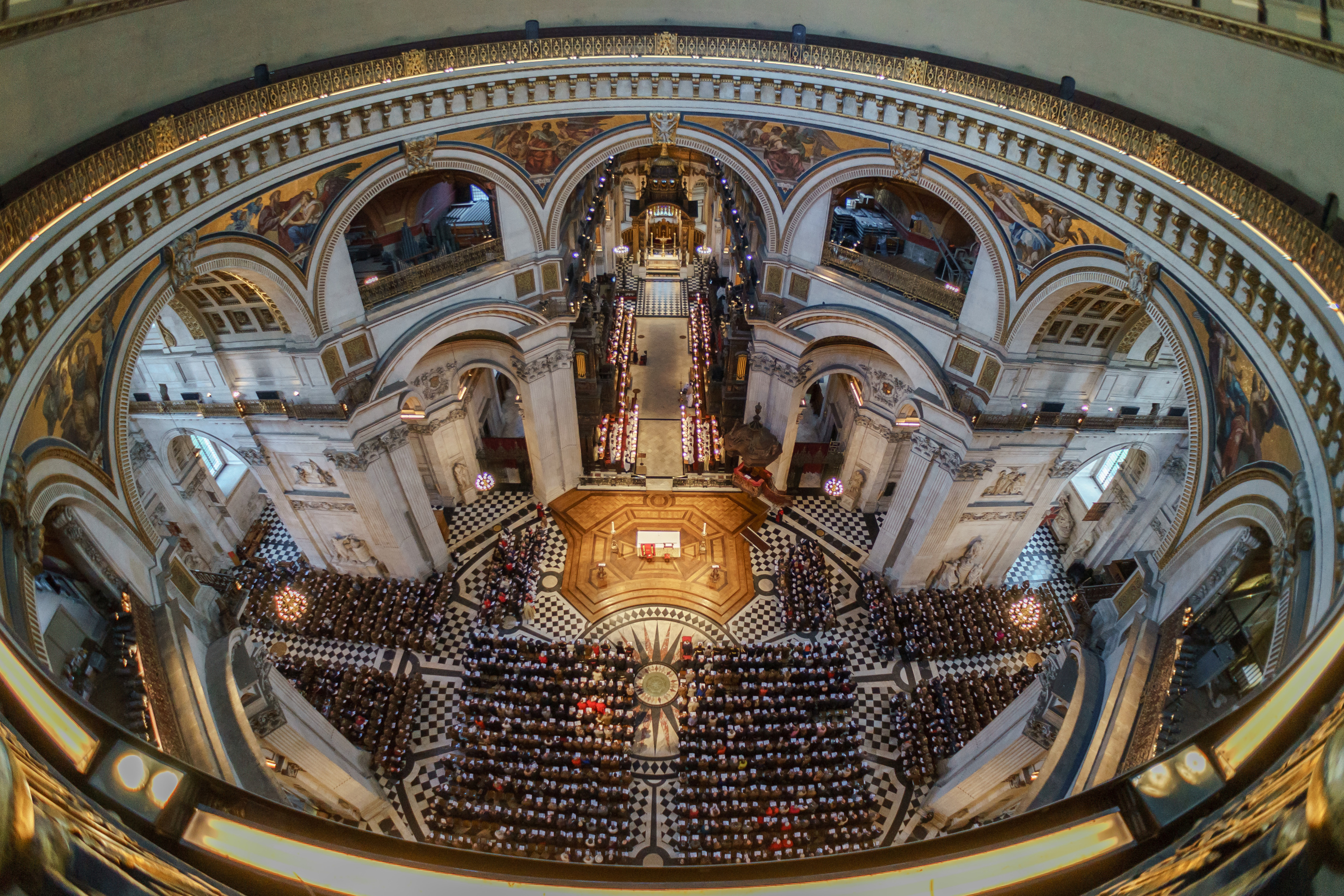 Christmas Carol concert at St Paul's Cathedral