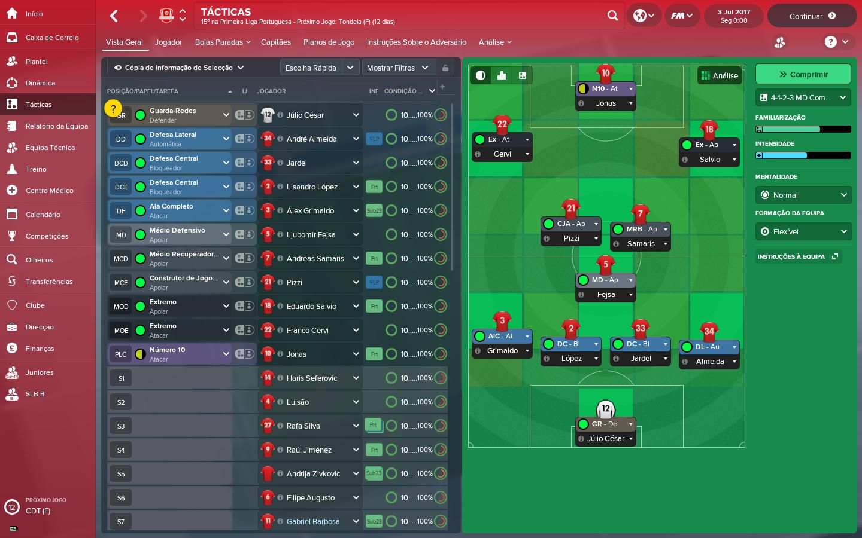 Football Manager 2018: Quem quer ser Rui Vitória?