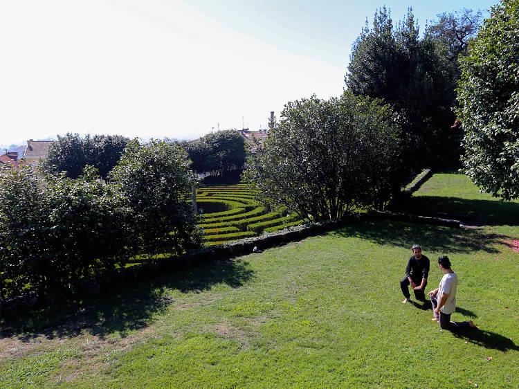 Perca-se no Parque de São Roque