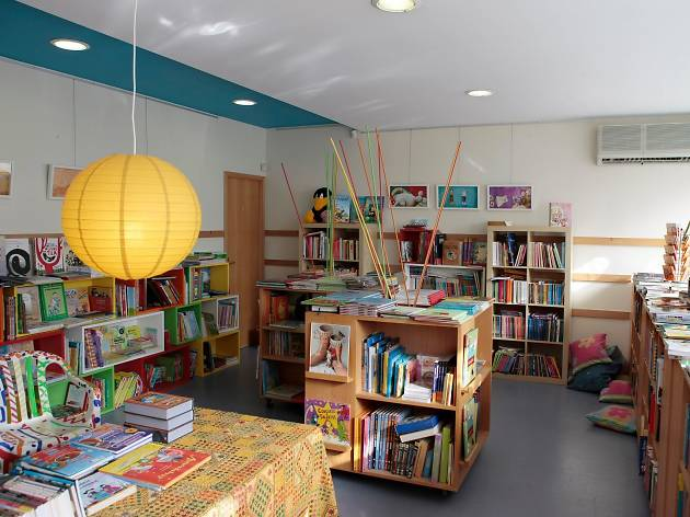 A Salta Folhinhas é uma livraria infantil