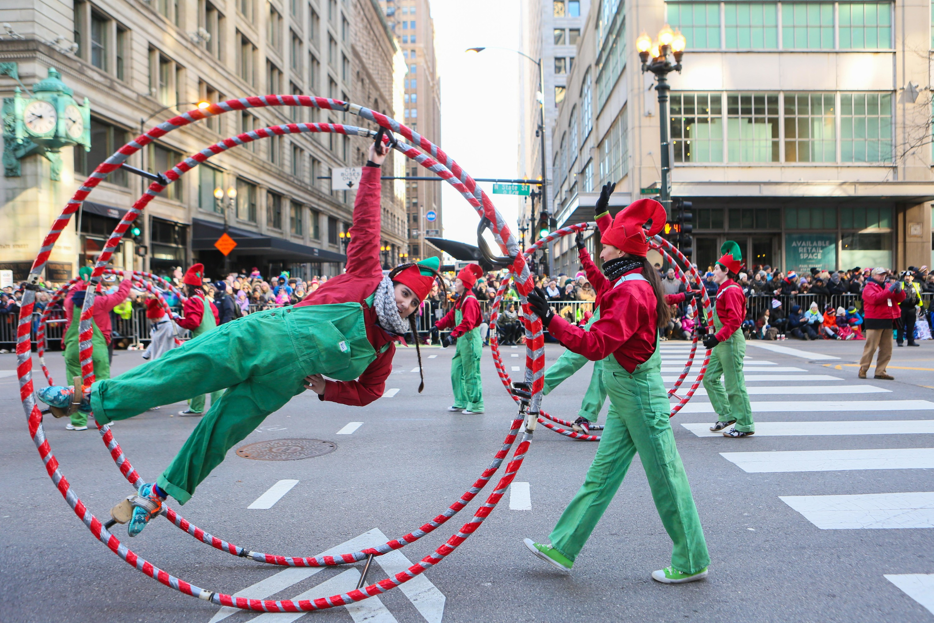 Photos from the Chicago Thanksgiving Parade