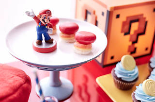 Super Mario Odyssey high tea