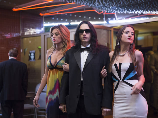 James Franco (centre) in the Disaster Artist