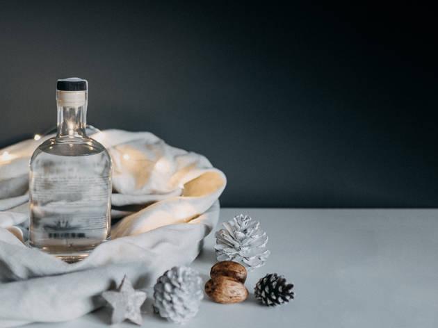Generic Gin Bottle for Christmas