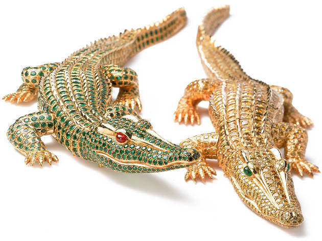 Cartier Paris, Two crocodile brooches 1975