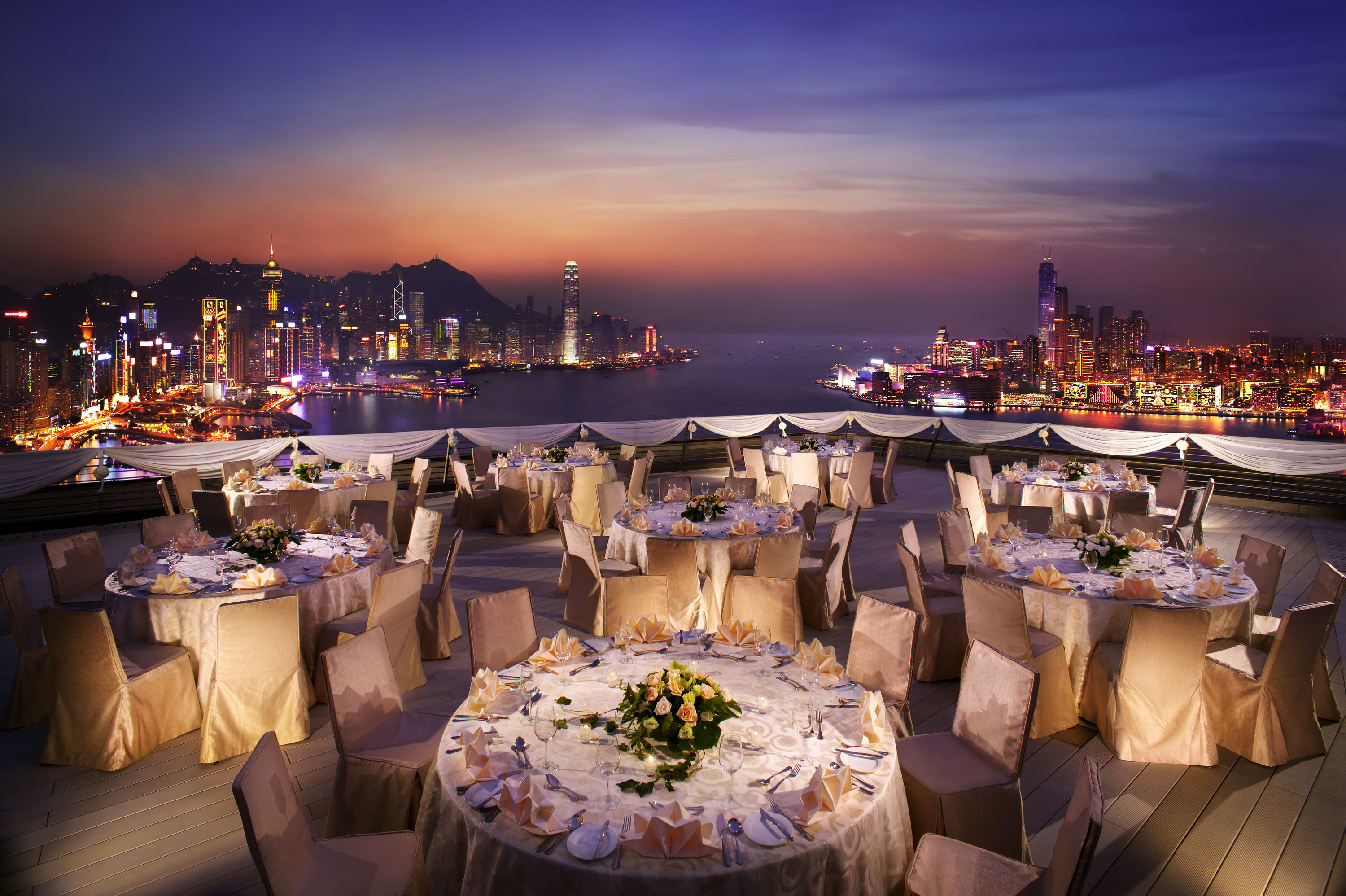 Harbour Grand rooftop wedding