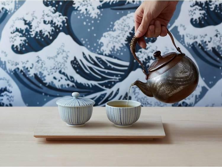 Best cafés and tea rooms for green tea in Tokyo