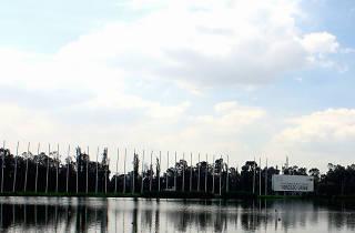 Pista Olímpica de Remo y Canotaje Virigilio Uribe en Xochimilco