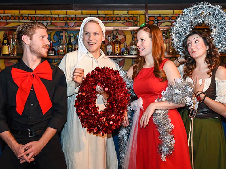 The Imbible: Christmas Carol Cocktails