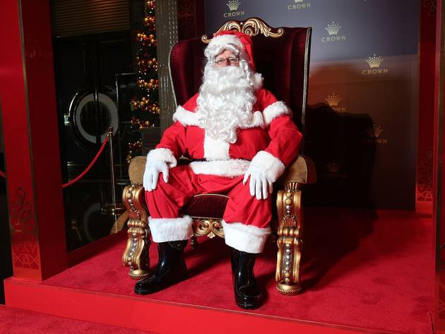 The Real Santa Claus at Crown