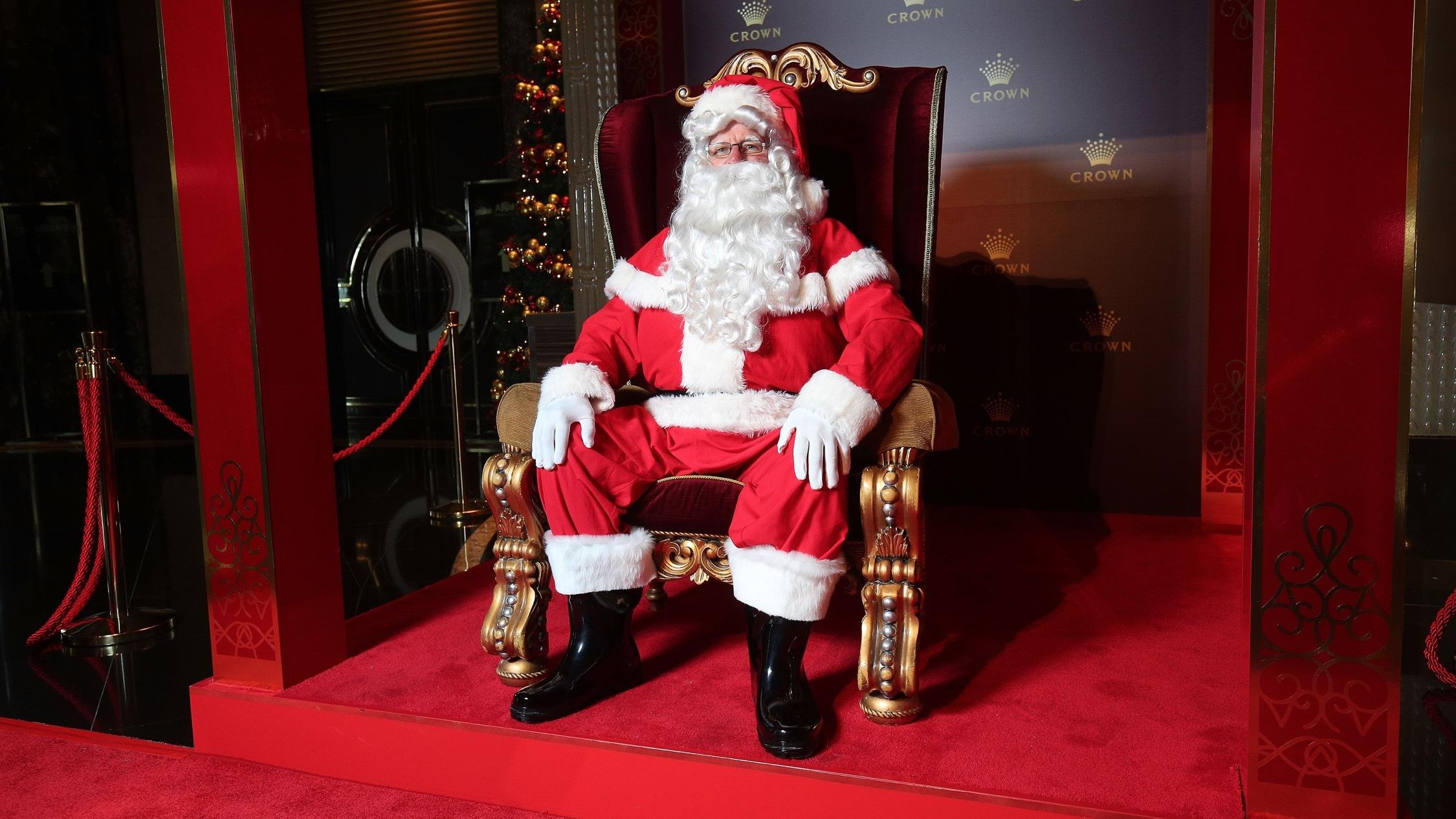The Real Santa Claus at Crown