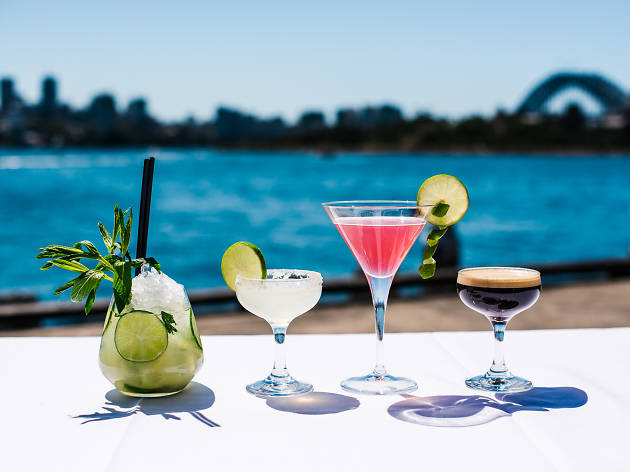 Flying Fish Pyrmont cocktails (Photograph: Alana Dimou)