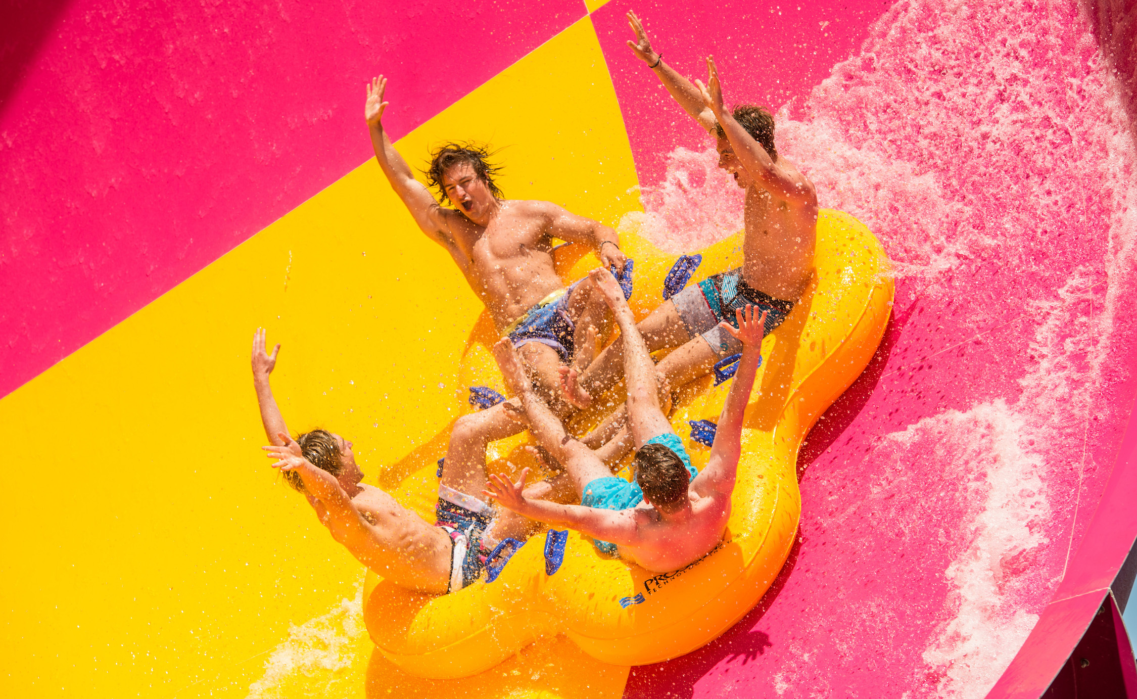 Melbourne's best waterslides
