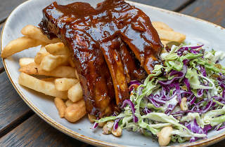 Ribs at Alfred Hotel (Photograph: Supplied)