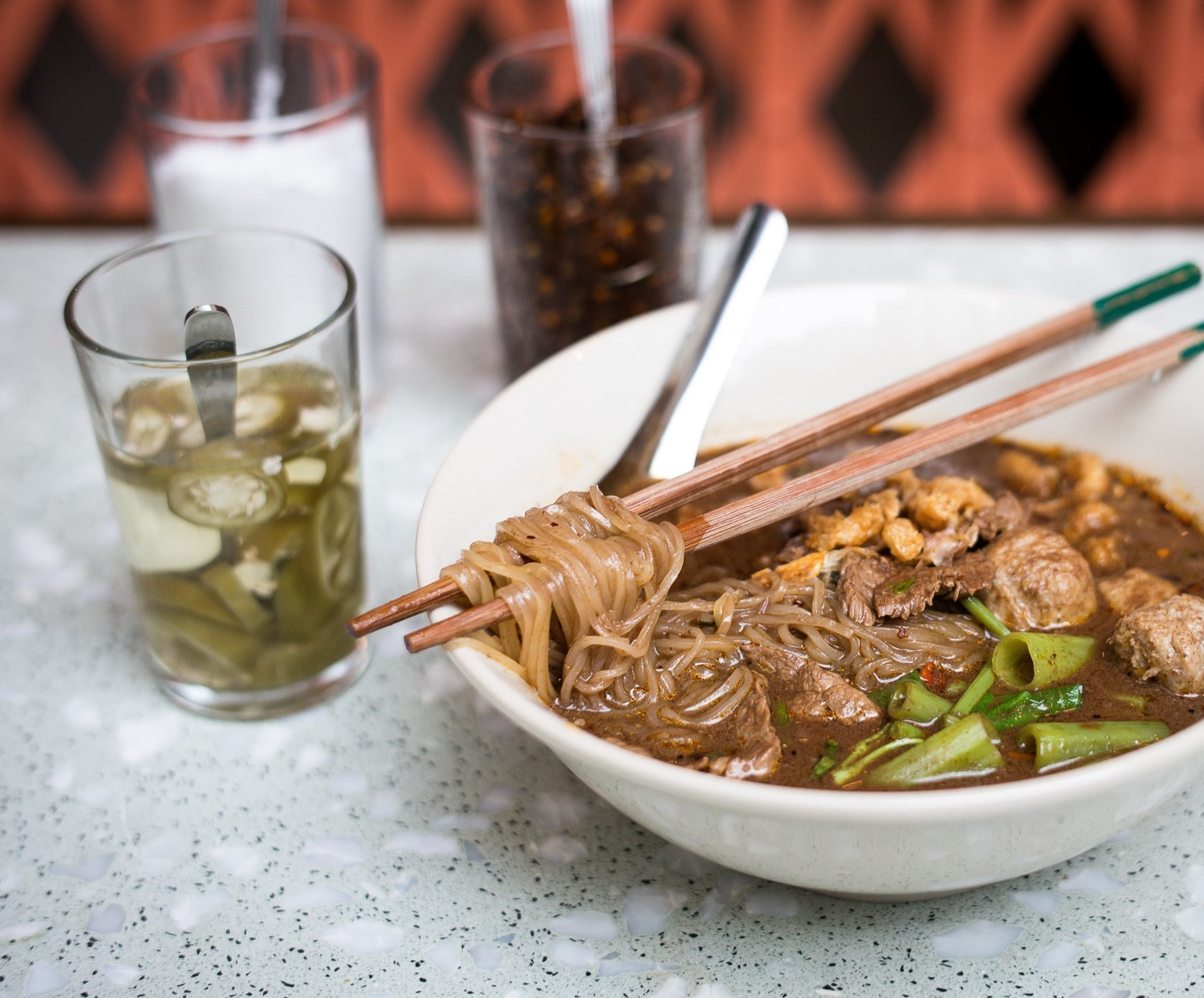 samsen boat noodles thai