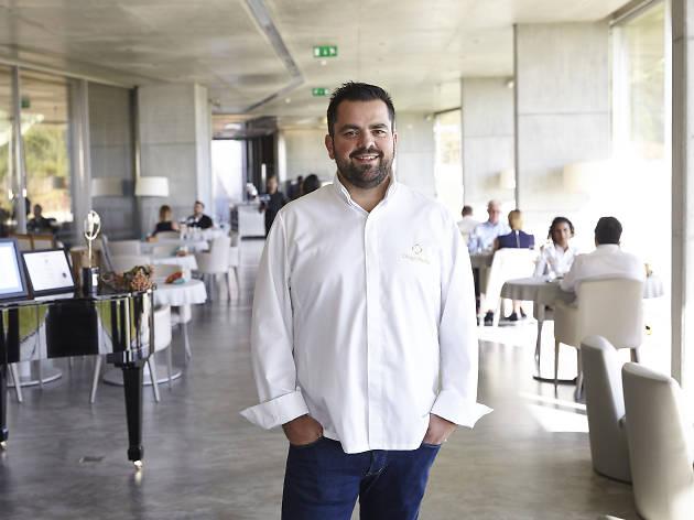 Diogo Rocha no Café Garrett