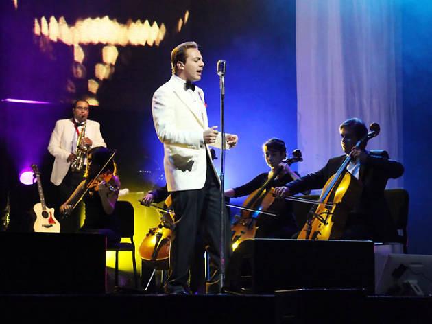 Cristian Castro se presenta en el Auditorio Nacional