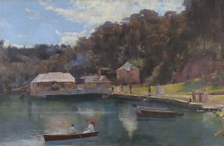 Mosman's Bay 1894, Tom Roberts, Bush to Bay, Mosman Art Gallery