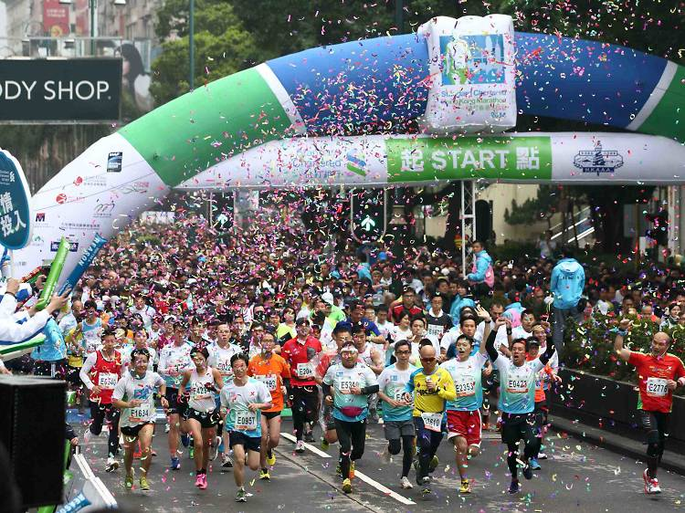 渣打香港馬拉松