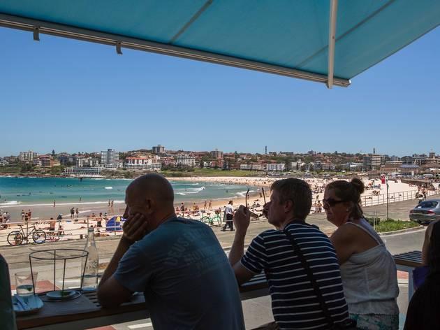 View of Bondi Beach at North Bondi Fish