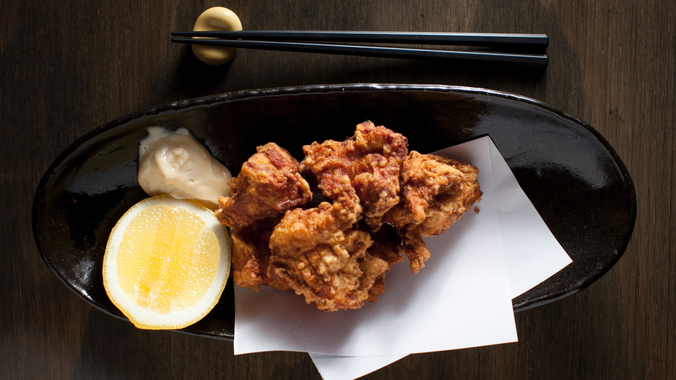 Food at Izakaya Fujiyama