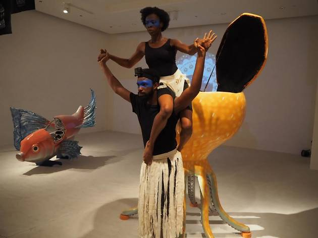 Paa Joe and Elisabeth Efua Sutherland exhibition