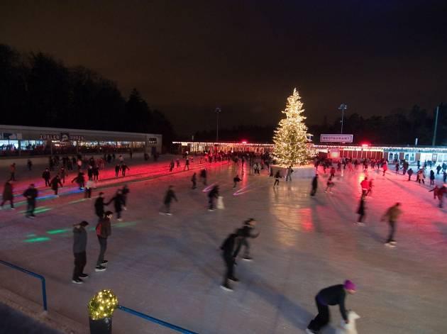 Dolder Sports ice skating rink