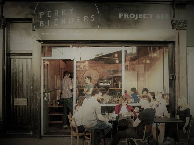 Perky Blenders Coffee Roasters - Project 660